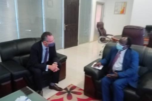 الاستثمار تبحث العلاقات السودانية الامريكية فى مجال الاستثمار والتعاون المشترك