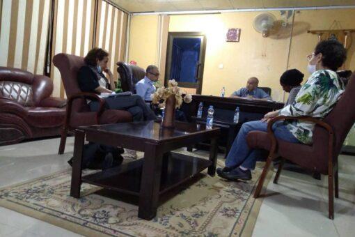 بحث تحسين اوضاع اللاجئين الاثيوبيين