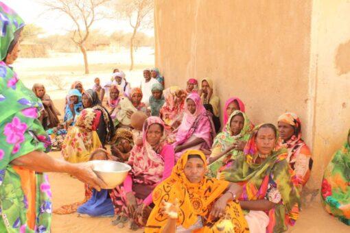 مخيم علاجي مجاني بمحلية أم كدادة بشمال دارفور