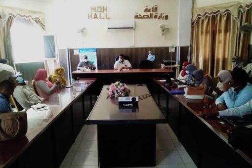 الصحة بالجزيرة :الإهتمام بتوطين الخدمات الطبية بالولاية