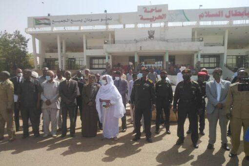 نهر النيل تسير قافلة لدعم القوات المسلحة واللاجئين الإثيوبيين