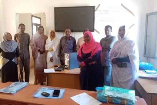 دورة تدريبية لجامعي البيانات للتقييم الوطني للتعليم بولاية نهر النيل