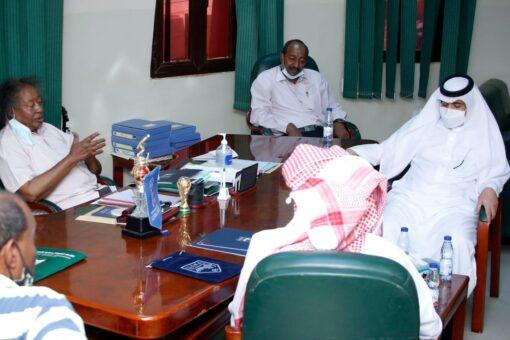 إتفاقية تأهيل وترميم مقر الاتحاد السوداني لكرة القدم