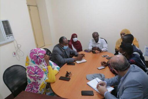 القضارف : المدير العام لوزارة الصحةوالتنمية الاجتماعية تستقبل ممثل منظمةالصحةالعالمية