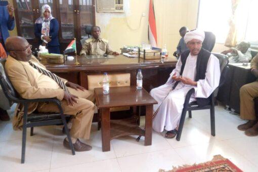 الجهاز القضائي بشمال دارفور يتفقد سير العمل القضائي باللعيت