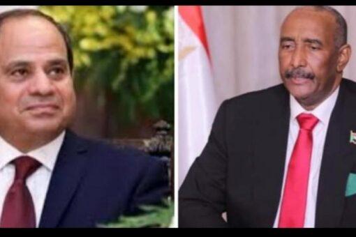 رئيس مجلس السيادة يبعث ببرقية تعزية و مواساة للرئيس المصري