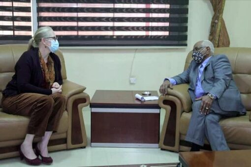 دبيلو يبحث مع سفيرة النرويج تطورات عملية السلام في السودان