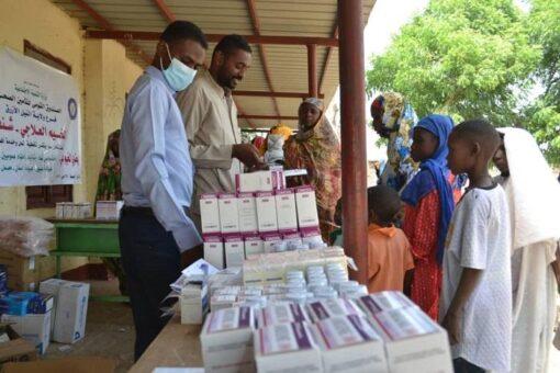 مخيم علاجي مجاني بريفي شمال الروصيرص