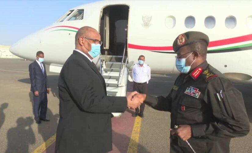 ابراهيم جابر يتوجه الى جمهورية أفريقيا الوسطى
