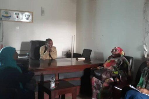 وفد المالية الاتحادية يقف على المشروعات الممولة اتحاديا بأبوحمد