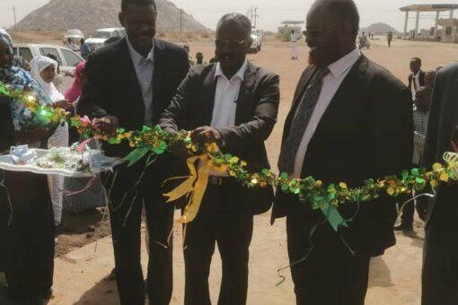 إفتتاح مبنى الادارة القانونية بمحلية الجبلين