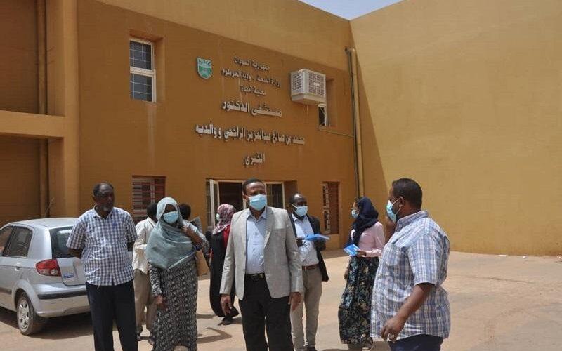 الخرطوم: مديرعام وزارة الصحة يزور مستشفي الراجحي بمحلية امبدة