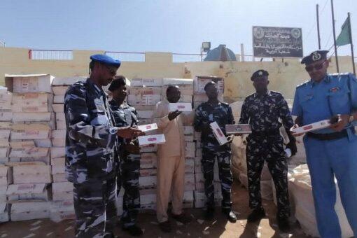 مروى: شعبة مكافحة التهريب تضبط عربة تحمل سجائر مهربة