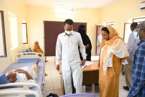 جبل أولياء تشرع في تطعيم الكوادر الصحيةوكبار السن بلقاح كورونا