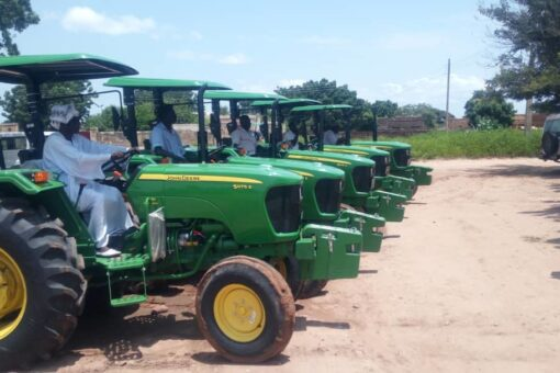 جياد تدشن المعدات الزراعية التي تم توطين صناعتها بالسودان