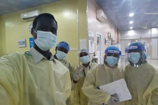 انطلاق حملة تطعيم الكوادر الطبية بشمال كردفان ضد كوفيد 19