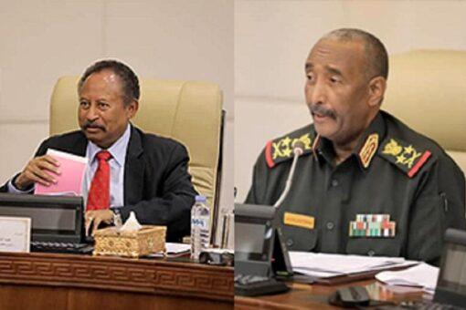 البرهان وحمدوك يجتمعان بقيادة الجيش