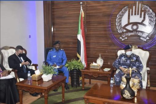 مدير عام الشرطة يلتقي الملحق الأمني بالسفارة الأمريكية بالخرطوم