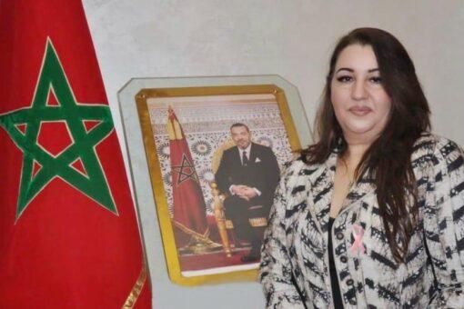 المغربية منى أعزري سفيرة للنوايا الحسنة للمرأة والطفل