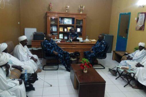 وزير الداخلية يلتقي الإدارة الأهلية بولاية جنوب دارفور