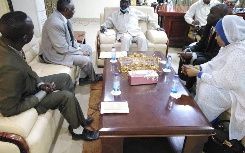 والى النيل الازرق يلتقى برئيس النيابة العامة
