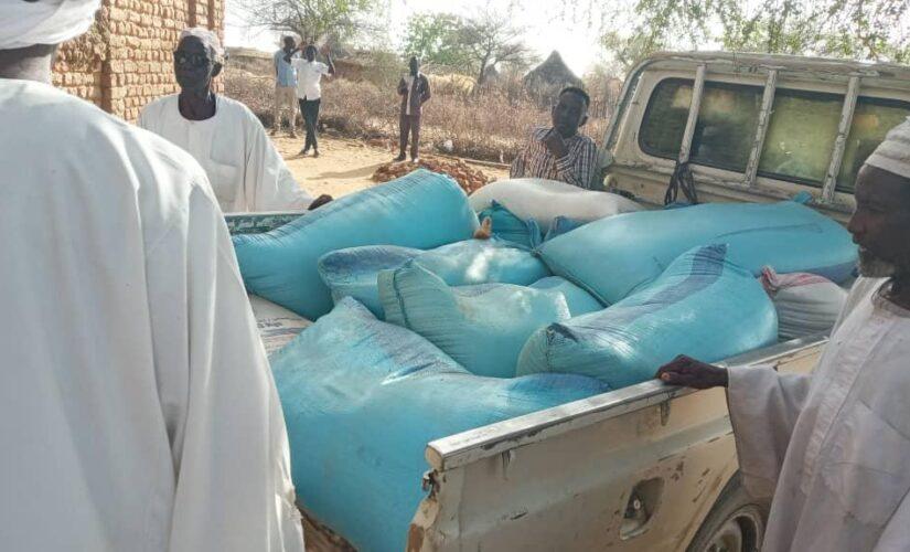 قافلة دعم ومؤازرة لمتضرري الحرائق بمنطقة مليسة بشمال دارفور
