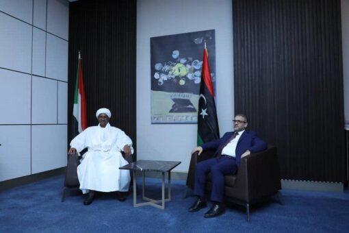 دقلو يلتقي رئيس المجلس الأعلى للدولة بليبيا