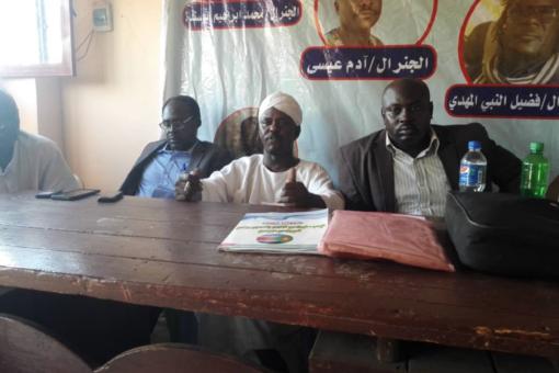 أبوحجيل:قيادةالحركة الشعبية التحالف السوداني تزور شرق دارفور الاربعاء