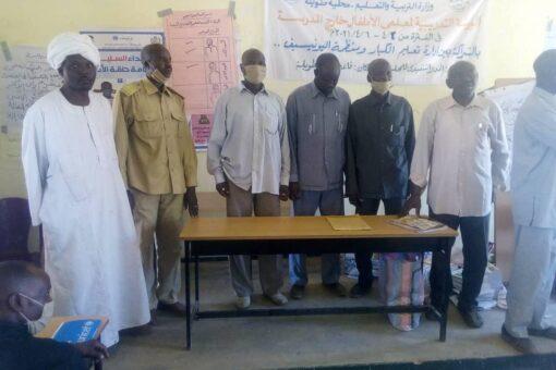ختام الورشة التدريبية لمعلمي مراكز الأطفال خارج المدرسة بشمال دارفور