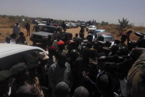 عليو يستقبل وفد قيادة الحركة الشعبية التحالف السوداني قطاع دارفور