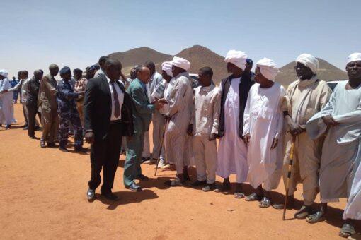 رئيس القضاء بشمال دارفور يتفقد سير العمل بمحكمة المالحة الجزئية