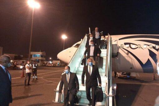 وزيرا النقل والمالية المصريان يصلان الخرطوم اليوم