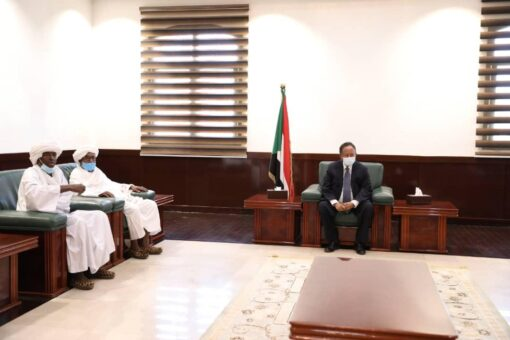 البرهان يلتقي بوفد شركة البنوفا انترناشونال للاستثمار السعودية