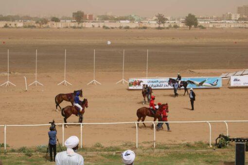 نادي سباق الخيل الخرطوم ينظم سباق (الديربي) السوداني