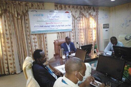 خطة عمل مشتركة بين حكومة النيل الأزرق واليونيسيف
