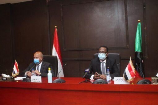 جلسة مباحثات بين السودان ومصر فى مجال النقل