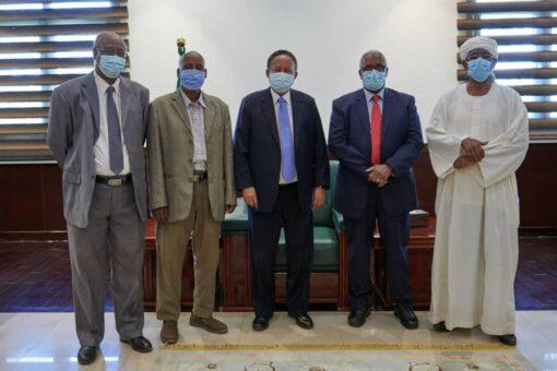 حمدوك والمجلس الاستشاري لشرق السودان يبحثان الحلول الآنية لقضايا الشرق