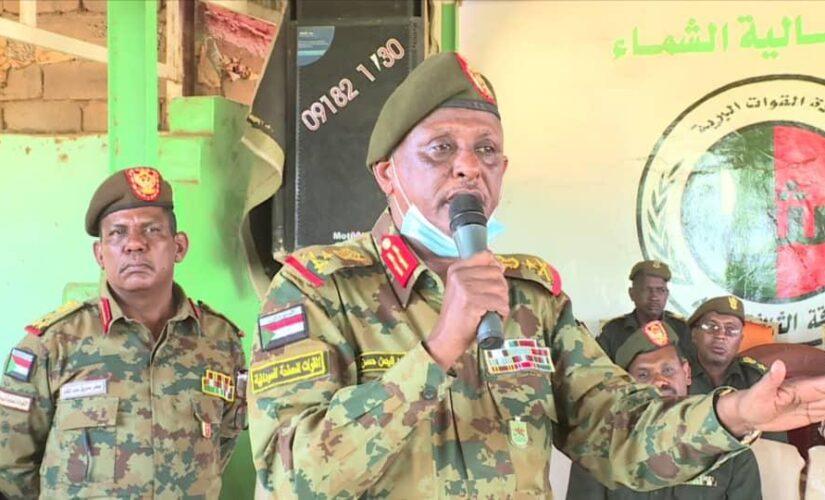 الفريق الركن ياسر العطا:السودان سيظل أمانة في أعناق القوات المسلحة