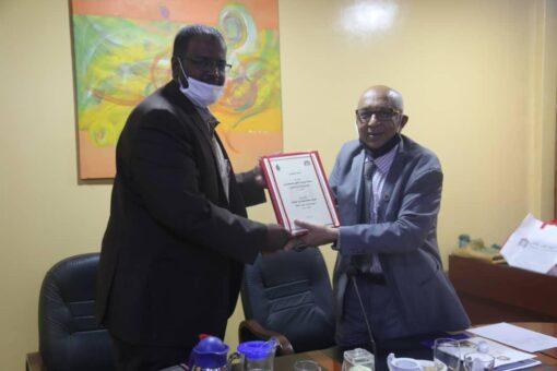 جامعة السودان توقع مذكرة تفاهم مع شركة بسكو للمشاريع المتطورة