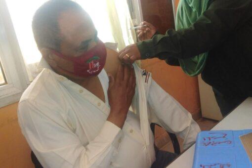 والي الشمالية يدشن حملة التطعيم بلقاح كوفيد(19)