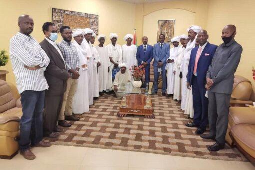 عبد النبي يتعهد بإقامة محجر الكومة بشمال دارفور