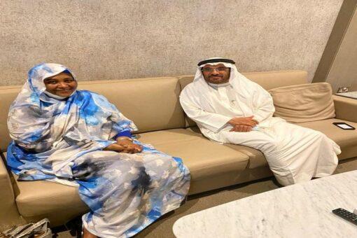 وزيرة الخارجية تؤكد مساندتها لجهود الهيئةالعربية في تحقيق الأمن الغذائي