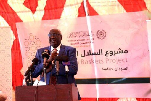 وزير التنميةالاجتماعيّة يُشارك في تدشين مشروع السلال الرمضانية للفقراء والأيتام