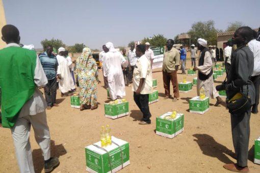 توزيع سلال رمضانية للأسر الأكثر حوجه بجنوب كردفان