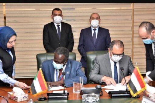توقيع مذكرة تفاهم بين الخطوط الجوية السودانية ومصر للطيران