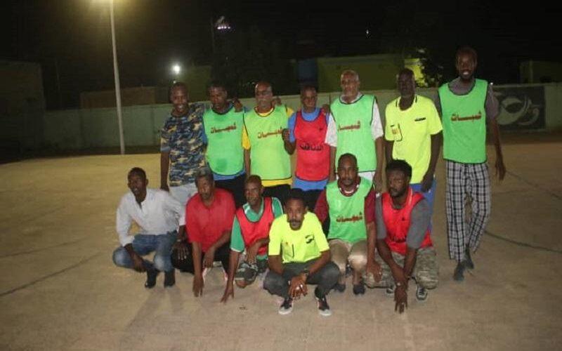 إنطلاق دورة الفقيد (حيدر) بمركز شباب الشعبية بحري