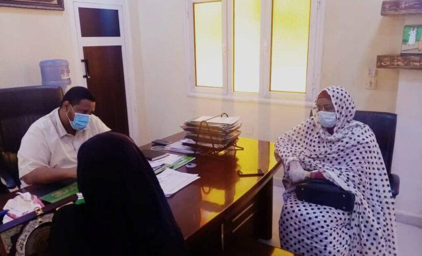 تعاون بين صحة الجزيرة ومنظمة المبادرات السودانية لتدريب الكوادر