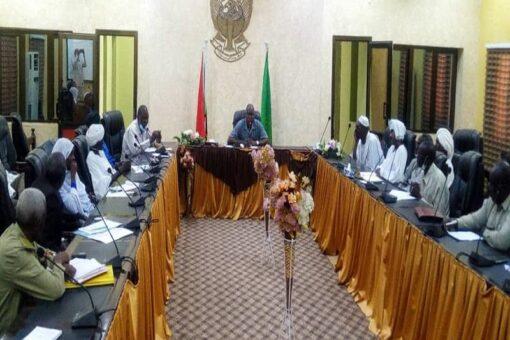 نيالا : اجتماع اللجنةالعليا لتقديم المساعدات لحريق معسكرات قريضة