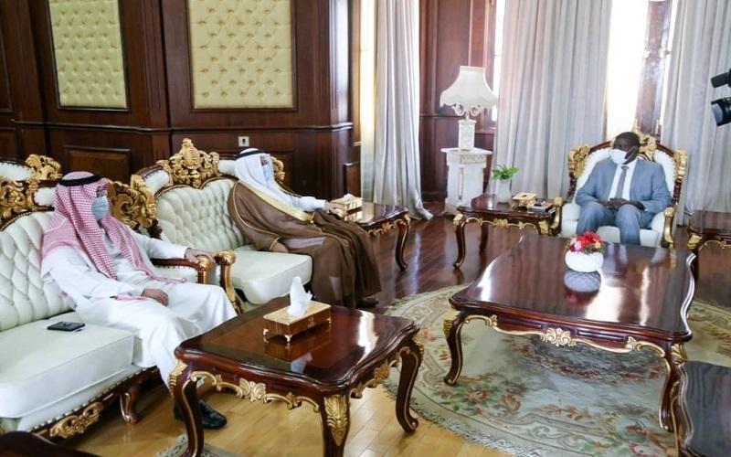 الطاهر حجر يبحث سبل ترقية العلاقات بين السودان والسعودية