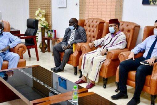 وزيرالتنمية الاجتماعيّةيبحَثُ سبُل التعاون مع عددٍمن المنظمات العربية والإسلامية